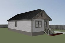 Dream House Plan - Cottage Exterior - Other Elevation Plan #79-130