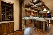 Craftsman Style House Plan - 5 Beds 5.5 Baths 4964 Sq/Ft Plan #892-27 Interior - Kitchen