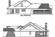 European Style House Plan - 4 Beds 3 Baths 2609 Sq/Ft Plan #17-208 Exterior - Other Elevation