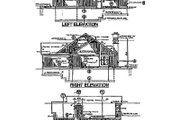 House Plan - 2 Beds 2.5 Baths 1498 Sq/Ft Plan #320-133 Exterior - Rear Elevation