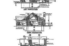 Exterior - Rear Elevation Plan #320-133