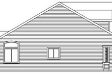 Traditional Exterior - Other Elevation Plan #124-768