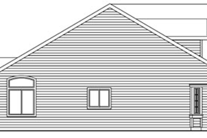 Traditional Exterior - Other Elevation Plan #124-768 - Houseplans.com