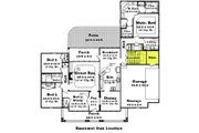 Country Style House Plan - 4 Beds 2.5 Baths 2250 Sq/Ft Plan #430-47 Floor Plan - Other Floor