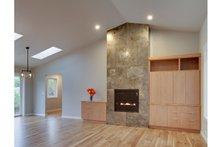 Ranch Interior - Family Room Plan #124-983