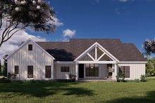 Dream House Plan - Craftsman Exterior - Rear Elevation Plan #923-175