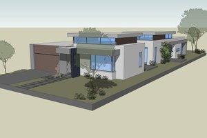 Modern Exterior - Front Elevation Plan #496-23