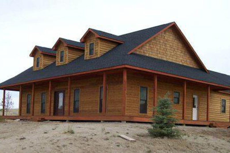 Country Exterior - Other Elevation Plan #44-121 - Houseplans.com