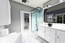 Home Plan - Cottage Interior - Master Bathroom Plan #44-247