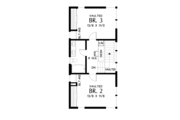 Contemporary Style House Plan - 3 Beds 3 Baths 2371 Sq/Ft Plan #48-693 Floor Plan - Upper Floor Plan