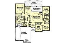 Traditional Floor Plan - Main Floor Plan Plan #430-54