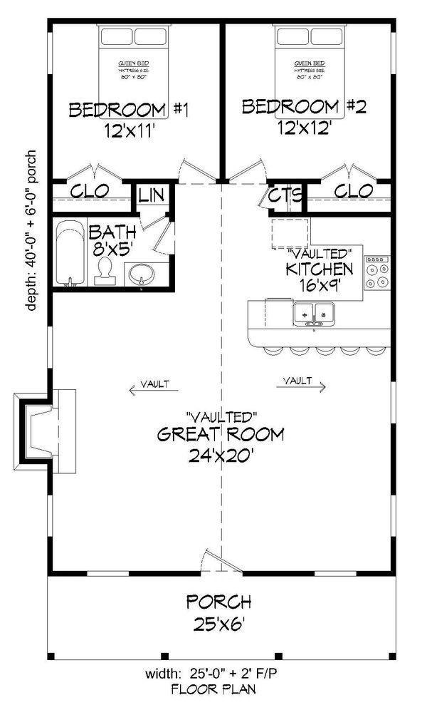 Dream House Plan - Country Floor Plan - Main Floor Plan #932-199