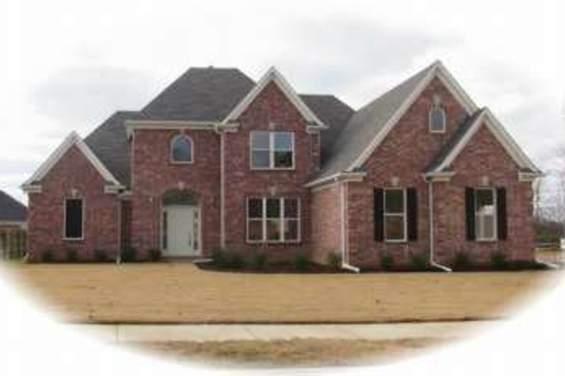 European Style House Plan - 3 Beds 2.5 Baths 2504 Sq/Ft Plan #81-1013 Exterior - Front Elevation