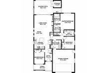 Contemporary Floor Plan - Main Floor Plan Plan #126-212