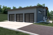 House Plan Design - Contemporary Exterior - Other Elevation Plan #1070-71