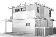 Prairie Style House Plan - 1 Beds 1 Baths 599 Sq/Ft Plan #895-129
