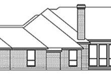 Home Plan - European Exterior - Rear Elevation Plan #84-259