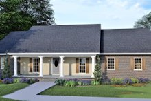 Dream House Plan - Traditional Exterior - Other Elevation Plan #44-122