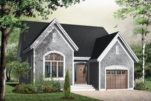Dream House Plan - Traditional Exterior - Front Elevation Plan #23-786