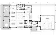 Bungalow Style House Plan - 3 Beds 2.5 Baths 2904 Sq/Ft Plan #928-330 Floor Plan - Main Floor Plan