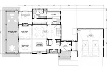 Bungalow Floor Plan - Main Floor Plan Plan #928-330