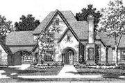European Style House Plan - 4 Beds 3.5 Baths 3994 Sq/Ft Plan #141-122