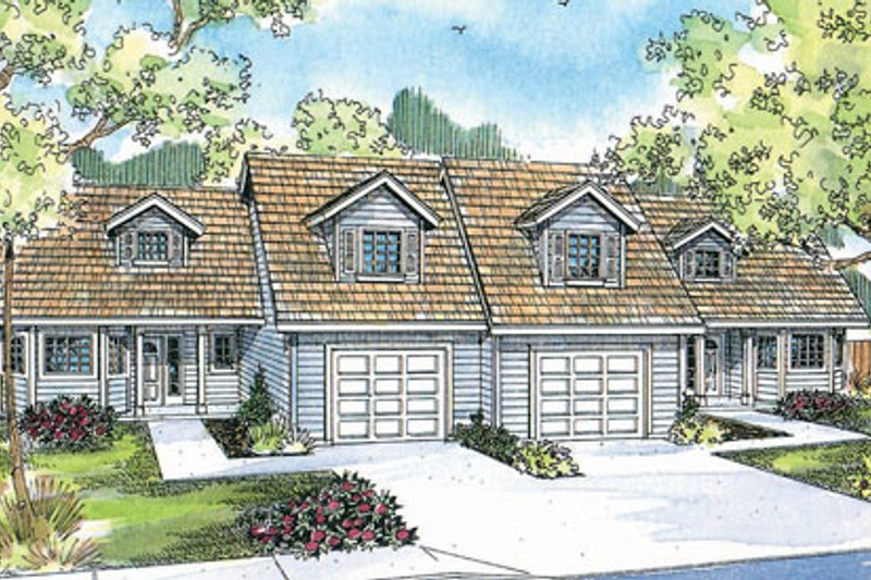 Traditional Exterior - Front Elevation Plan #124-809