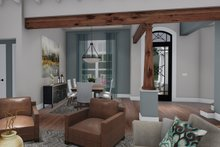 Dream House Plan - Farmhouse Interior - Entry Plan #120-255