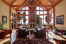 Craftsman Interior - Family Room Plan #124-691