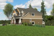 Cottage Style House Plan - 5 Beds 3.5 Baths 3800 Sq/Ft Plan #48-1018 Exterior - Other Elevation