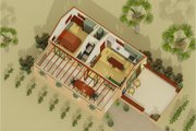 Adobe / Southwestern Style House Plan - 1 Beds 1 Baths 398 Sq/Ft Plan #917-3 Photo