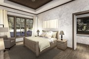 Cottage Style House Plan - 4 Beds 2.5 Baths 2298 Sq/Ft Plan #406-9654 Interior - Master Bedroom