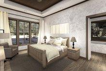 Cottage Interior - Master Bedroom Plan #406-9654