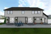 Farmhouse Style House Plan - 4 Beds 2.5 Baths 3356 Sq/Ft Plan #1060-1 Exterior - Rear Elevation