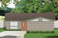 House Plan Design - Modern Exterior - Front Elevation Plan #84-515