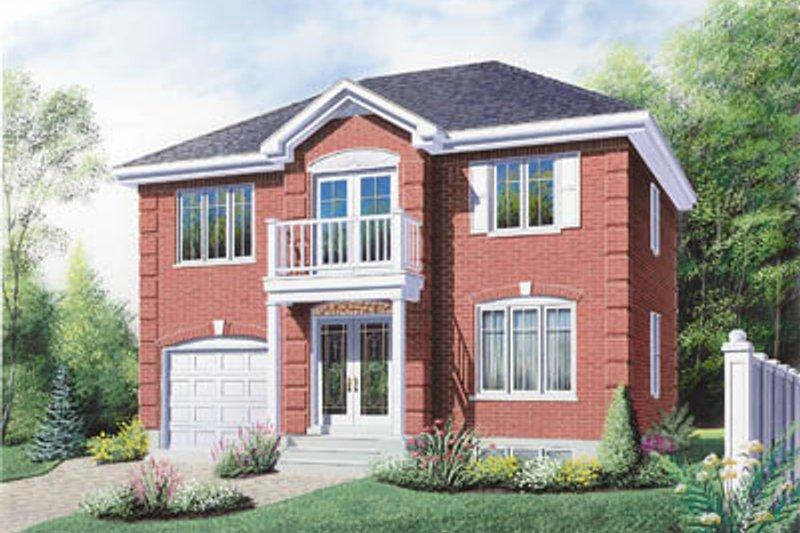 Dream House Plan - European Exterior - Front Elevation Plan #23-288
