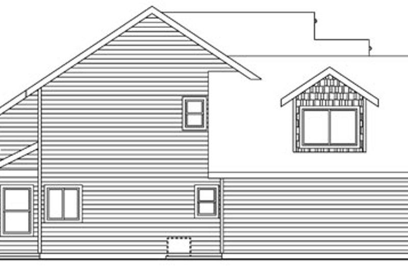 Craftsman Exterior - Other Elevation Plan #124-759 - Houseplans.com
