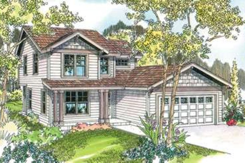 Home Plan - Traditional Exterior - Front Elevation Plan #124-599