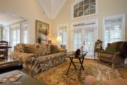 European Style House Plan - 3 Beds 2.5 Baths 2193 Sq/Ft Plan #929-34 Interior - Family Room
