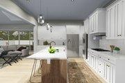Farmhouse Style House Plan - 6 Beds 4.5 Baths 4658 Sq/Ft Plan #1060-48 Interior - Kitchen