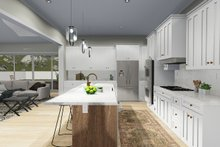 Farmhouse Interior - Kitchen Plan #1060-48
