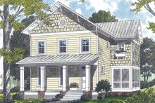 House Design - Farmhouse Exterior - Front Elevation Plan #453-2