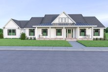 Home Plan - Contemporary Exterior - Front Elevation Plan #1070-85