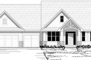 Craftsman Style House Plan - 3 Beds 2.5 Baths 3138 Sq/Ft Plan #51-450 Exterior - Other Elevation