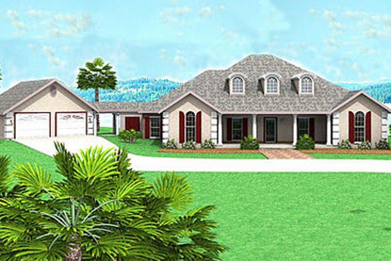 Dream House Plan - European Exterior - Front Elevation Plan #44-124