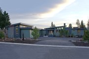 Contemporary Style House Plan - 3 Beds 2.5 Baths 3247 Sq/Ft Plan #892-9