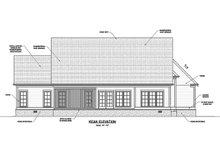 House Plan Design - Ranch Exterior - Rear Elevation Plan #1071-12