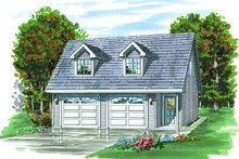 House Plan Design - Country Exterior - Front Elevation Plan #47-508