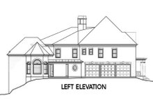 European Exterior - Other Elevation Plan #119-357