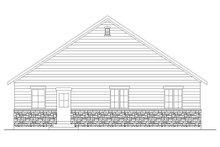 Ranch Exterior - Rear Elevation Plan #5-234